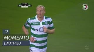 Sporting CP, Jogada, J. Mathieu aos 12'