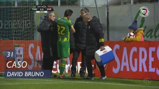 CD Tondela, Caso, David Bruno aos 31'