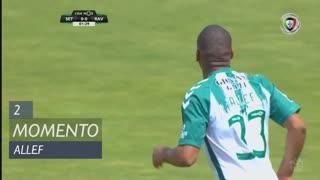 Vitória FC, Jogada, Allef aos 2'