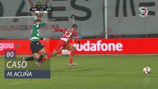 Sporting CP, Caso, M. Acuña aos 80'