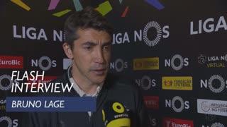 Liga (24ª): Flash Interview Bruno Lage
