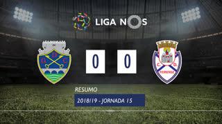 Liga NOS (15ªJ): Resumo GD Chaves 0-0 CD Feirense