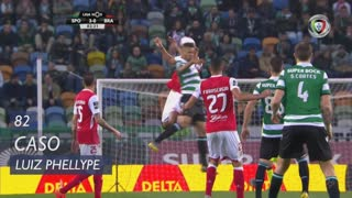 Sporting CP, Caso, Luiz Phellype aos 82'