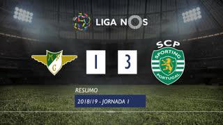 Liga NOS (1ªJ): Resumo Moreirense FC 1-3 Sporting CP