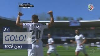 GOLO! Vitória SC, Tozé aos 64', Vitória SC 1-0 Belenenses SAD