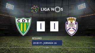 Liga NOS (26ªJ): Resumo CD Tondela 1-1 CD Feirense