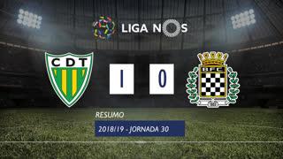 Liga NOS (30ªJ): Resumo CD Tondela 1-0 Boavista FC