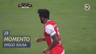 SC Braga, Jogada, Dyego Sousa aos 28'