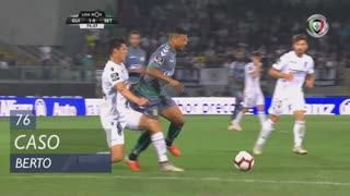 Vitória FC, Caso, Berto aos 76'