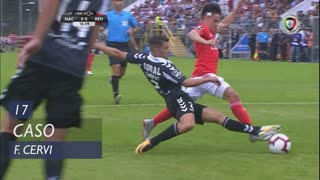 SL Benfica, Caso, F. Cervi aos 17'