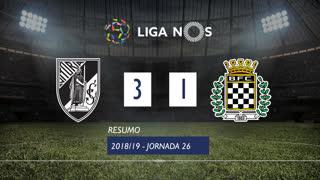 Liga NOS (26ªJ): Resumo Vitória SC 3-1 Boavista FC
