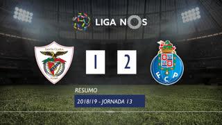 Liga NOS (13ªJ): Resumo Santa Clara 1-2 FC Porto