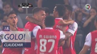 GOLO! SC Braga, Claudemir aos 18', Vitória SC 1-1 SC Braga
