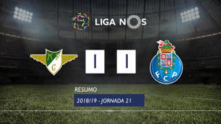 Liga NOS (21ªJ): Resumo Moreirense FC 1-1 FC Porto