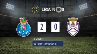 Liga NOS (8ªJ): Resumo FC Porto 2-0 CD Feirense