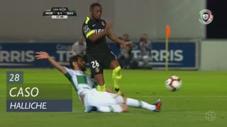 Moreirense FC, Caso, Halliche aos 28'