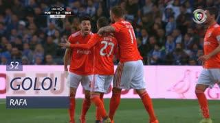 GOLO! SL Benfica, Rafa aos 52', FC Porto 1-2 SL Benfica