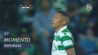 Sporting CP, Jogada, Raphinha aos 47'