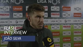 Liga (21ª): Flash Interview João Silva