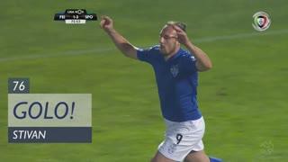GOLO! CD Feirense, Stivan aos 76', CD Feirense 1-3 Sporting CP