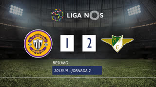 Liga NOS (2ªJ): Resumo CD Nacional 1-2 Moreirense FC