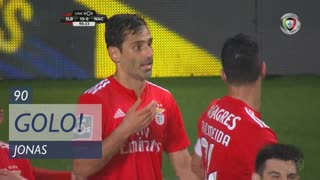 GOLO! SL Benfica, Jonas aos 90', SL Benfica 10-0 CD Nacional