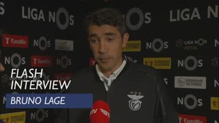 Liga (27ª): Flash Interview Bruno Lage
