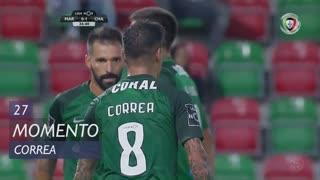 Marítimo M., Jogada, Correa aos 27'