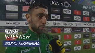 Liga (29ª): Flash Interview Bruno Fernandes