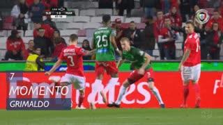 SL Benfica, Jogada, Grimaldo aos 7'