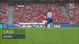 SL Benfica, Caso, Salvio aos 72'