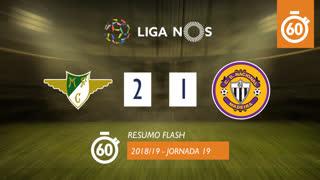 Liga NOS (19ªJ): Resumo Flash Moreirense FC 2-1 CD Nacional