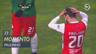 SC Braga, Jogada, Paulinho aos 33'