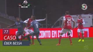 Vitória FC, Caso, Éber Bessa aos 77'