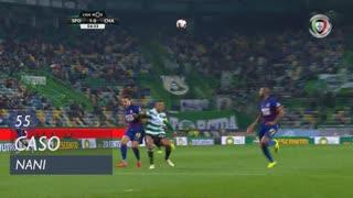 Sporting CP, Caso, Nani aos 55'