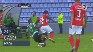 Sporting CP, Caso, Nani aos 25'