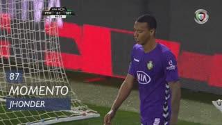 Vitória FC, Jogada, Jhonder aos 87'
