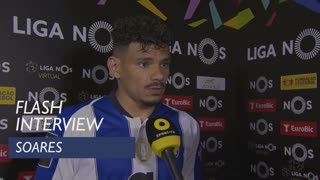 Liga (27ª): Flash Interview Soares