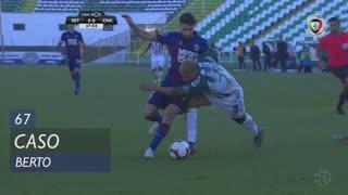Vitória FC, Caso, Berto aos 67'