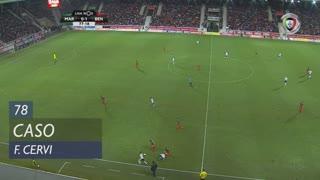 SL Benfica, Caso, F. Cervi aos 78'
