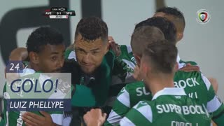 GOLO! Sporting CP, Luiz Phellype aos 24', CD Aves 0-1 Sporting CP