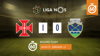 Liga NOS (12ªJ): Resumo Flash Belenenses 1-0 GD Chaves