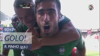 GOLO! Marítimo M., Rodrigo Pinho aos 90'+7', Marítimo M. 1-0 Sta. Clara