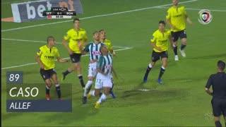 Vitória FC, Caso, Allef aos 89'