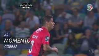 Marítimo M., Jogada, Correa aos 55'