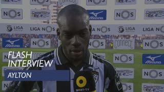 Liga (29ª): Flash Interview Aylton