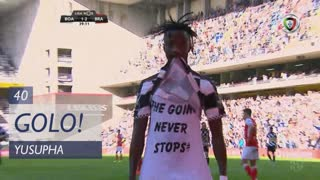 GOLO! Boavista FC, Yusupha aos 40', Boavista FC 2-2 SC Braga