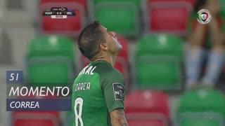 Marítimo M., Jogada, Correa aos 51'