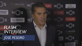 Liga (5ª): Flash interview José Peseiro