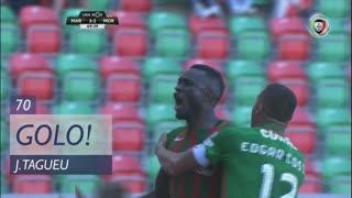 GOLO! Marítimo M., J.Tagueu aos 70', Marítimo M. 3-2 Moreirense FC